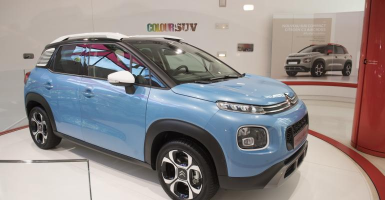 C3 Aircross bound for export to all continents except North America