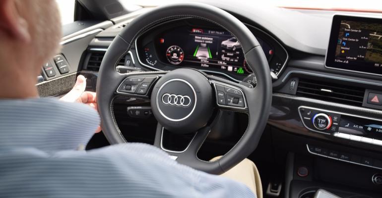 Audi S5 Virtual Cockpit veritable masterpiece