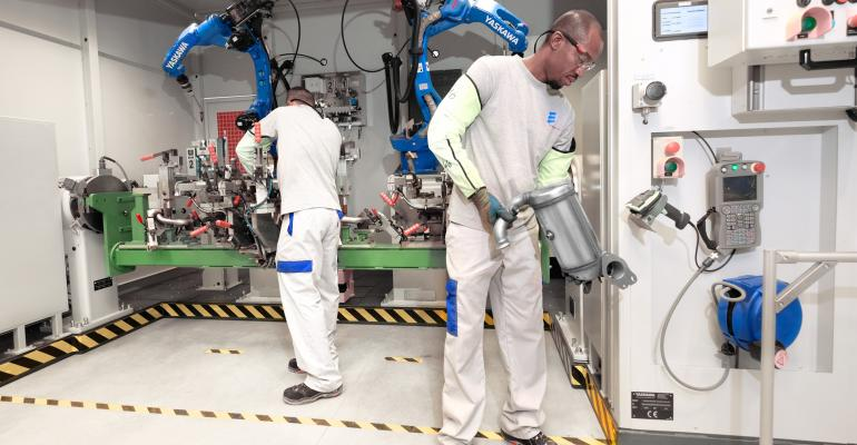 Supplier says plant will produce catalytic converter every 25 seconds at full capacity