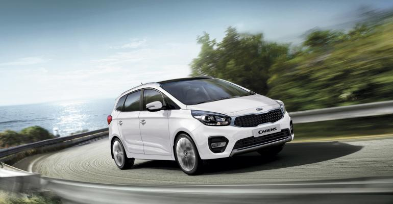 Carens MPV part of Kia lineup rated tops in dependability