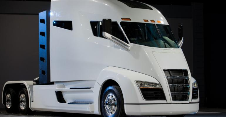 Manufacturer claims 1900mile maximum range for Nikola One truck