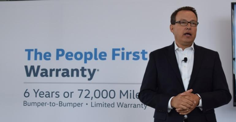 Woebcken announces extended warranty for all rsquo18 Volkswagen vehicles