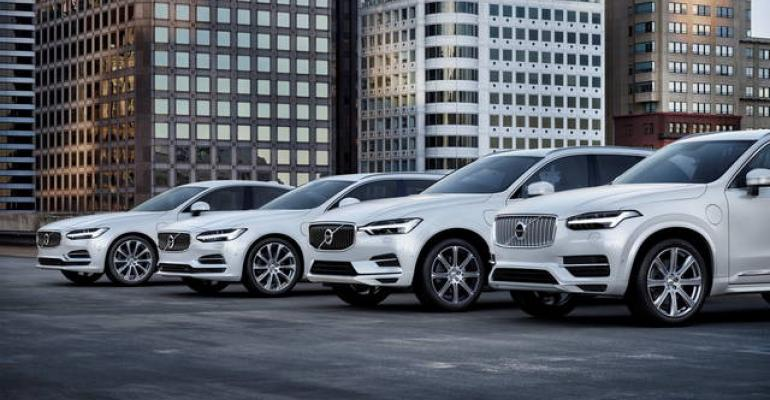 Full or partial electrification gives Volvo inside track in meeting cleanair goals