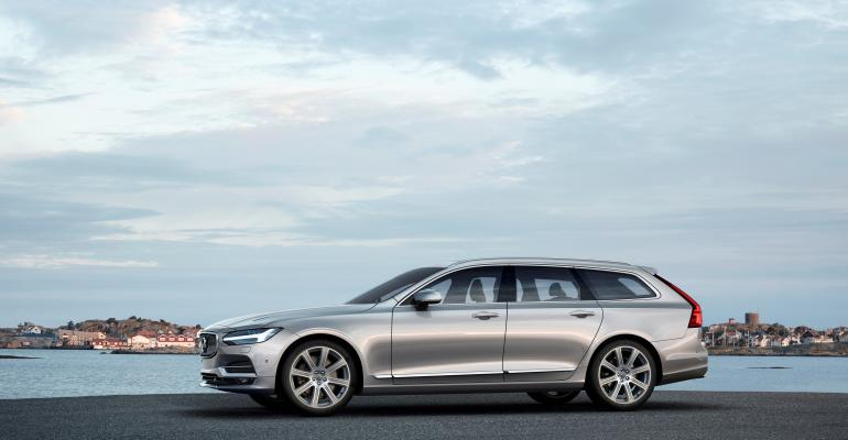 Online sales moved V90rsquos North American arrival ahead Volvo says