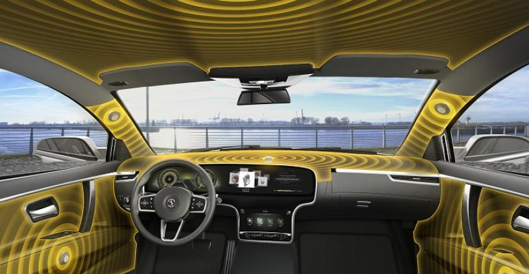 Conti places actuators in door panels A pillars atop instrument panel and in ceiling