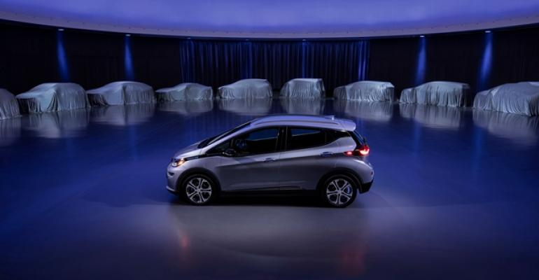 Chevy Bolt to inform next batch of GM EVs