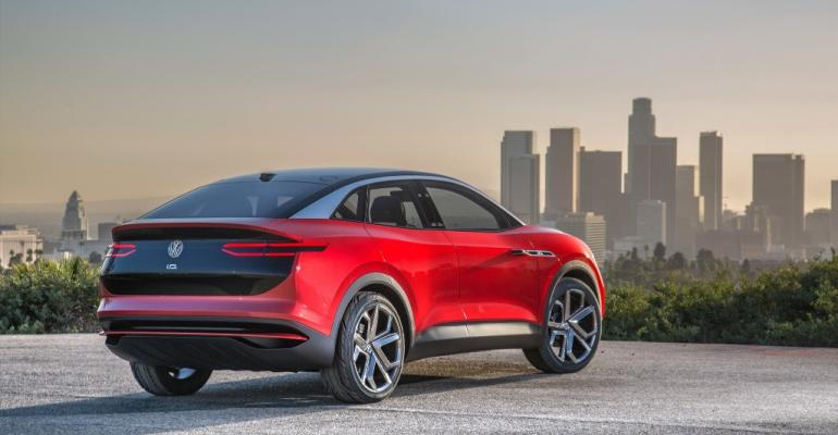 Production version of ID Crozz concept EV due in US in 2020 Concept in photo