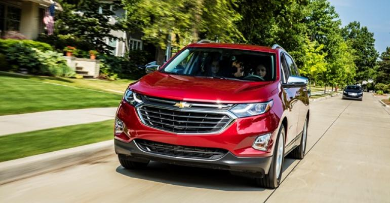 Chevy Equinox sales soar inventories tight