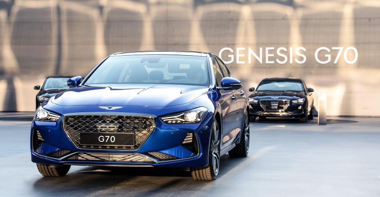 Genesis G70 in South Korea has Highway Driving Assist