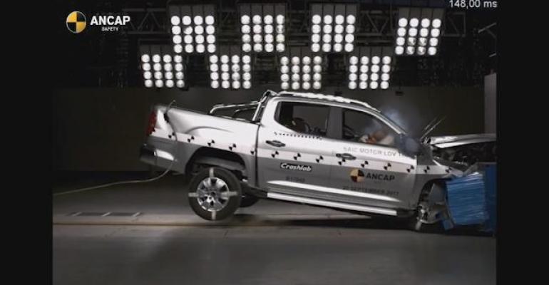 LDV T60rsquos crashtest performance outweighs lack of autonomous emergency braking