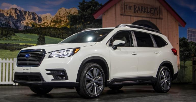 The rsquo19 Ascent becomes the largest vehicle Subaru has ever built