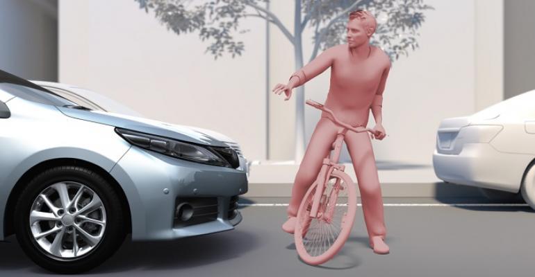 Nextgen TSS can better detect bicyclists