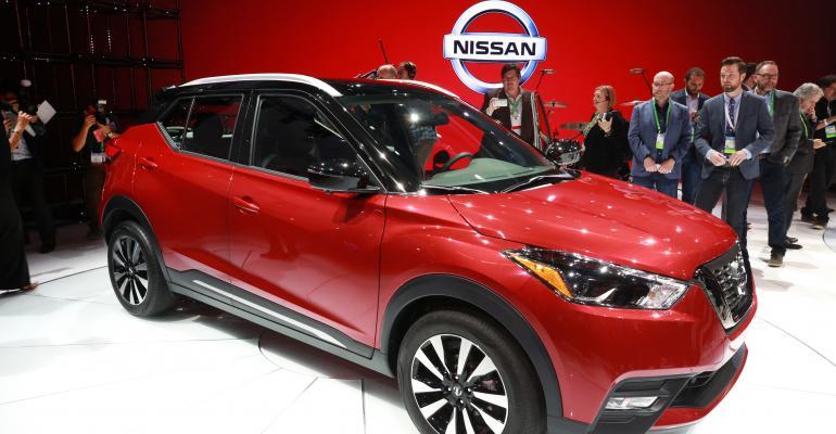 Nissan Kicks CUV on sale in June in US