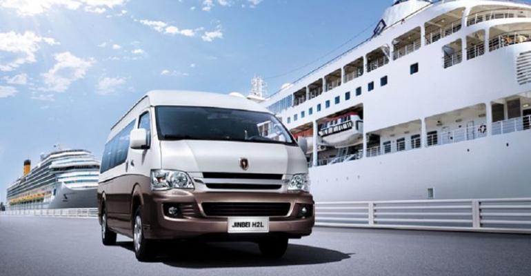 JV will hit ground running with Jinbei minibus already on Chinese market