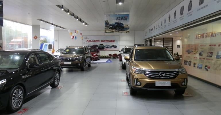 GS4 front right compact SUV automakerrsquos bestselling model by large margin