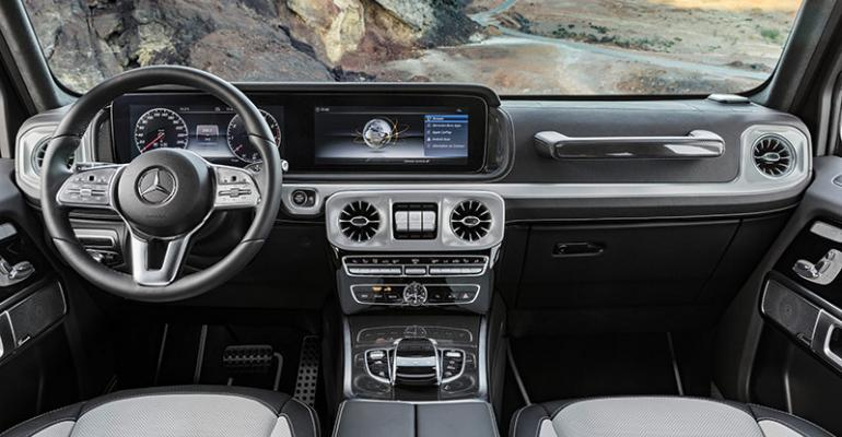 Mercedes retained cues from original rsquo79 model in redesigned cabin