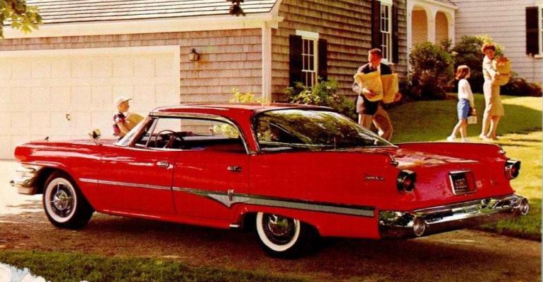 Phoenix 4door hardtop among the models in allnew 3960 Dodge Dart lineup