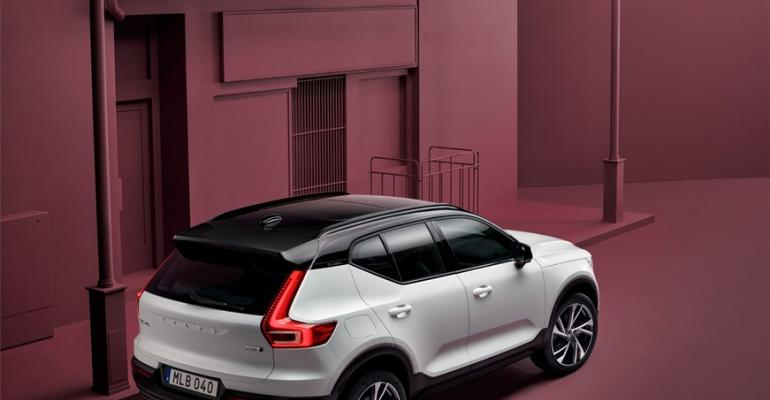 XC40 underpinned by first platform codeveloped by Volvo and Geely