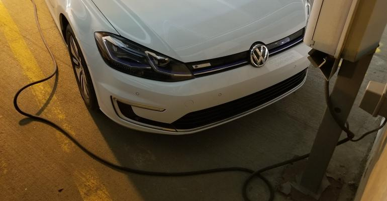 EU eager for European consumers to drive electric vehicles such as VW eGolf