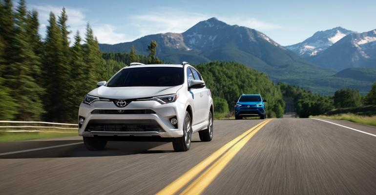 Toyota sold 407594 RAV4s in the US last year
