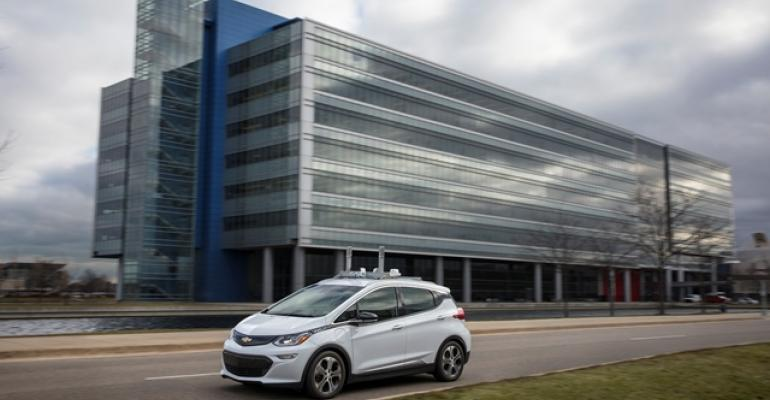 Driverless test cars generating mountains of data