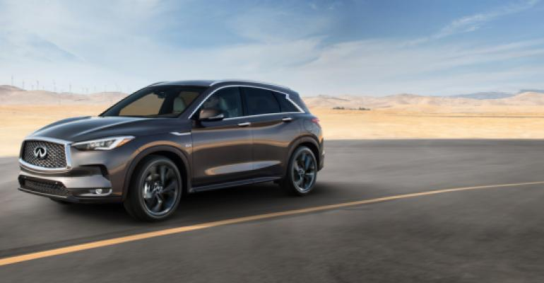 Infiniti QX50 uses new VC Turbo engine