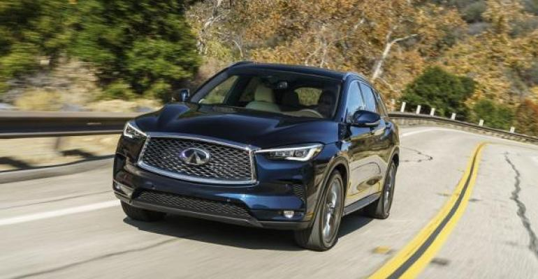 QX50 on sale now at Infiniti dealers