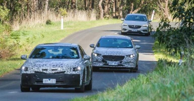 Australiarsquos first imported Commodore about to launch