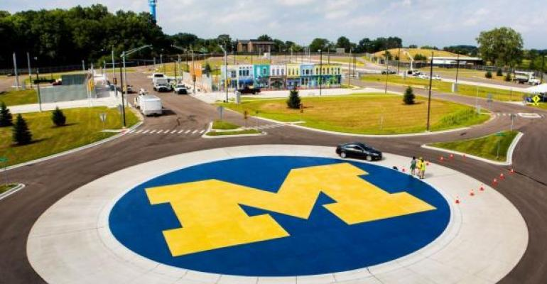 University of Michigan39s Mcity test facility for autonomous vehicles
