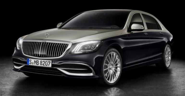 New grille adapted from Maybach 6 concept car