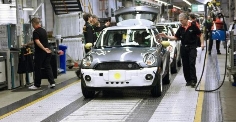 BMW adding Mini EV production at Oxford UK plant