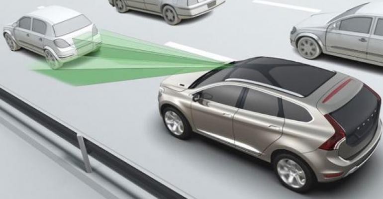 Autonomous emergency braking prerequisite for European test programrsquos top safety rating