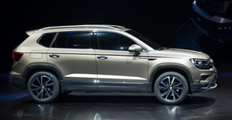 Volkswagen | Volkswagen Riding SUV Wave in China | WardsAuto
