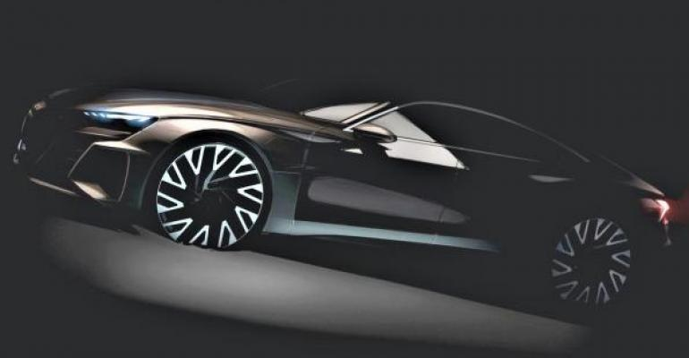 Audi hints ETron GT will be positioned at top of lineup
