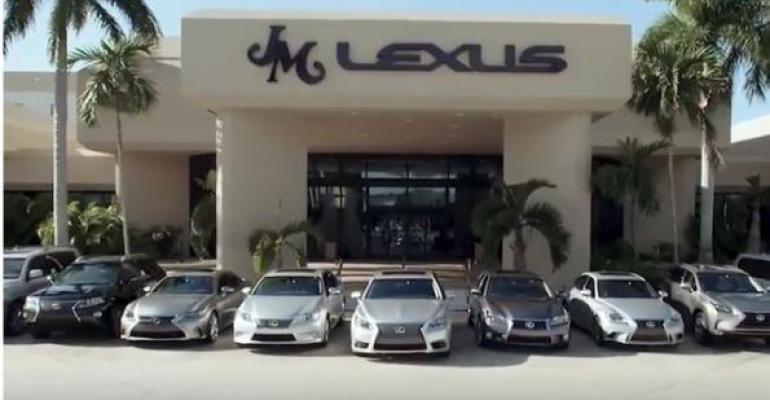 JM Lexus in Margate FL highest volume Lexus dealer in US