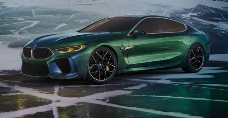 Fourdoor coupe among 8Series models due in North American showrooms in 2019
