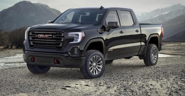 GMC Launches Sierra AT4, Promises More Off-Roaders | WardsAuto