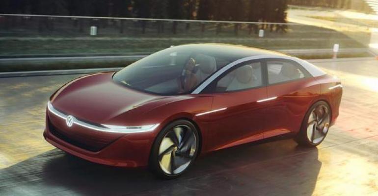 ID Vizzion concept showcases Levin 5 autonomous driving