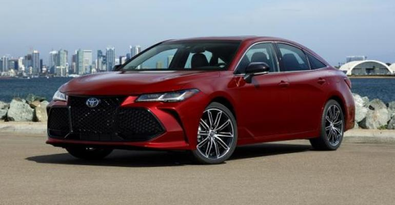 3919 Avalon on sale in May in US