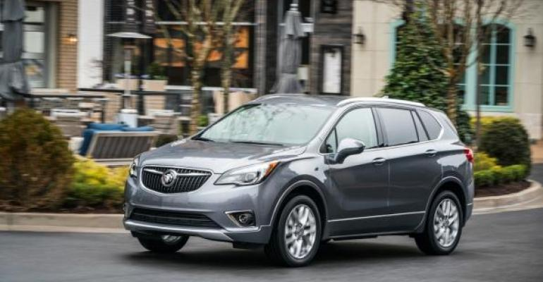 Made in China the Envision ranks as Buickrsquos No 3 volume seller The top two also are CUVs