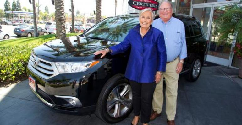 The Wenzels of California opted for used Toyota Highlander SUV