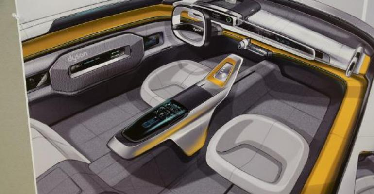 Vacuum maker Dyson plans to launch electric car CCS student imagines what it will look like