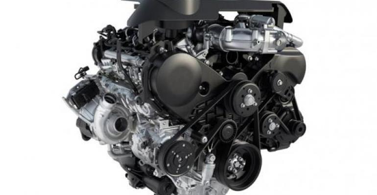 F150rsquos 30L Power Stroke diesel hits EPAestimated 30 mpg