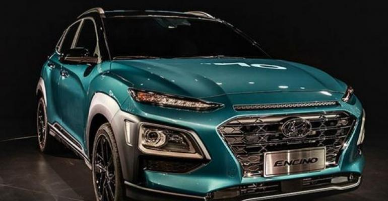 Hyundairsquos 16L turbocharged Gamma engine powers Kona Encino