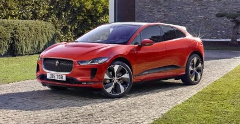 Batteryelectric IPace newest addition to JLRrsquos lineup