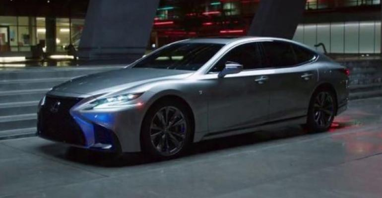 Lexus commercial had 43 fewer interruptions than average auto ad