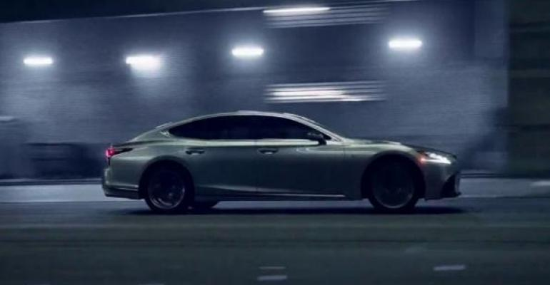 Lexusrsquos mostviewed commercial also topped iSpot Attention Index