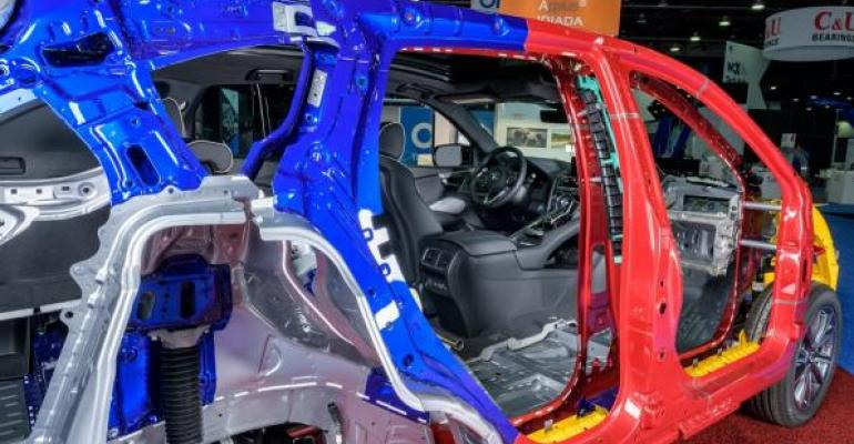 Acura Engineers Pull Back RDX Skin | WardsAuto