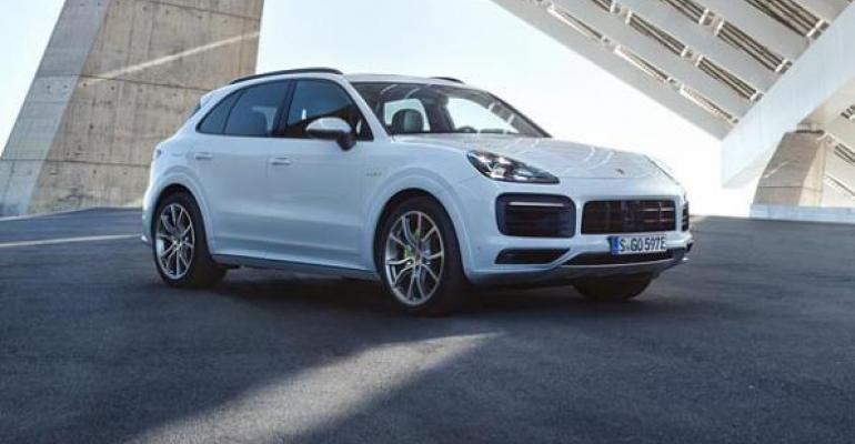 Porsche Cayenne EHybrid goes on sale in early 2019