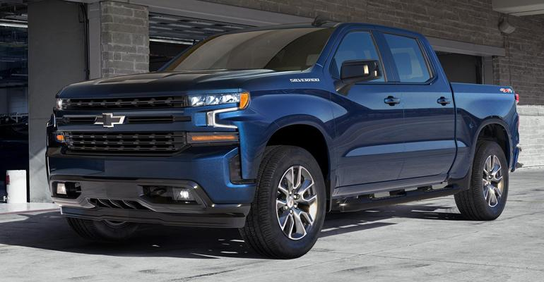 GM's new 2.7L turbo 4-cyl. available with Chevy Silverado LT, RST (pictured) trim.